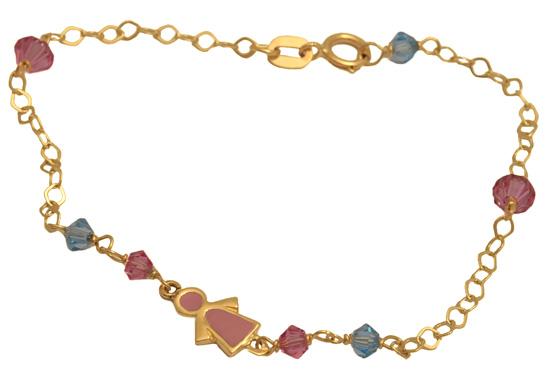 Παιδικό βραχιόλι 14Κ 002632 Χρυσός 14 Καράτια