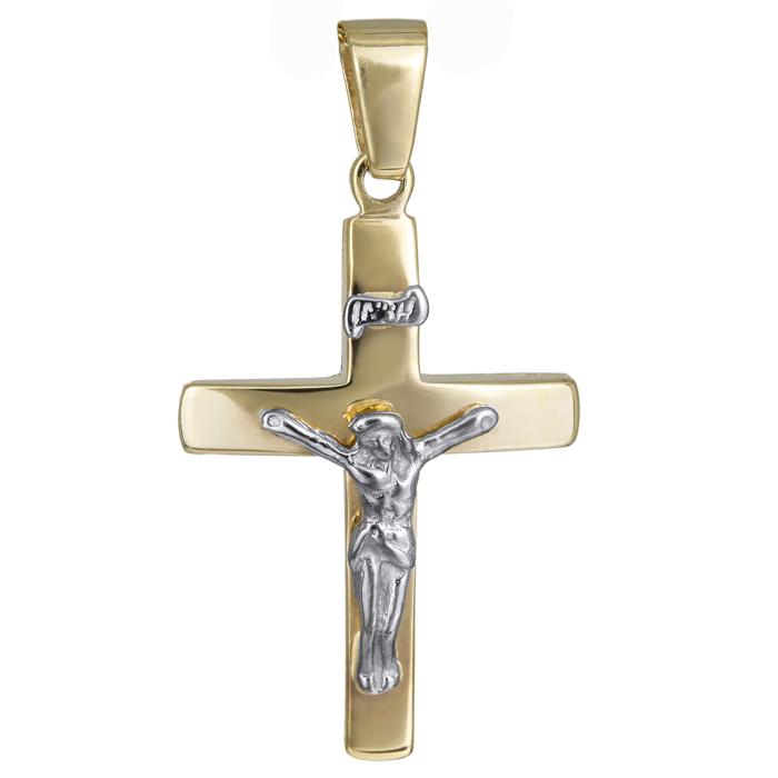 Σταυροί Βάπτισης - Αρραβώνα Ανδρικός σταυρός 006038 006038 Ανδρικό Χρυσός 14 Καράτια