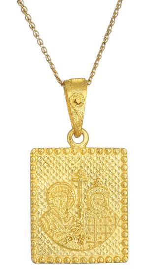 Χρυσό κωνσταντινάτο Κ9 006168 006168 Χρυσός 9 Καράτια