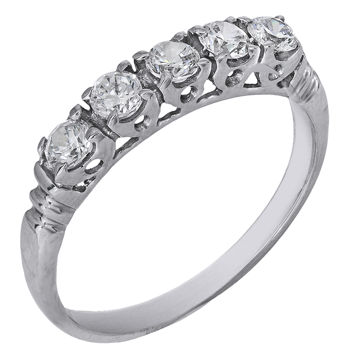Γυναικείο δαχτυλίδι σειρέ 14K 006192 006192 Χρυσός 14 Καράτια