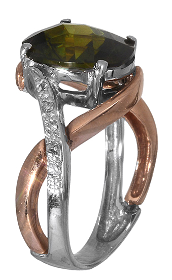 Δαχτυλίδι δίχρωμο 14K 006353 006353 Χρυσός 14 Καράτια