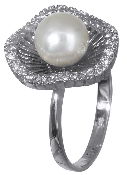 Λευκόχρυσο Δαχτυλίδι Κ14 000640 000640 Χρυσός 14 Καράτια χρυσά κοσμήματα δαχτυλίδια με μαργαριτάρια και διάφορες πέτρες