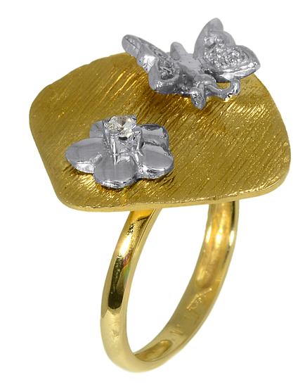 Δαχτυλίδι Χρυσό 006612 Χρυσός 14 Καράτια