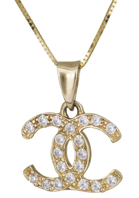 Γυναικείο κολιέ Κ14 006775 006775 Χρυσός 14 Καράτια