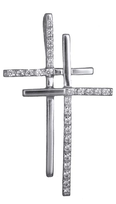 Σταυροί Βάπτισης - Αρραβώνα Γυναικείος σταυρός αρραβώνα Κ14 006828 006828 Γυναικείο Χρυσός 14 Καράτια