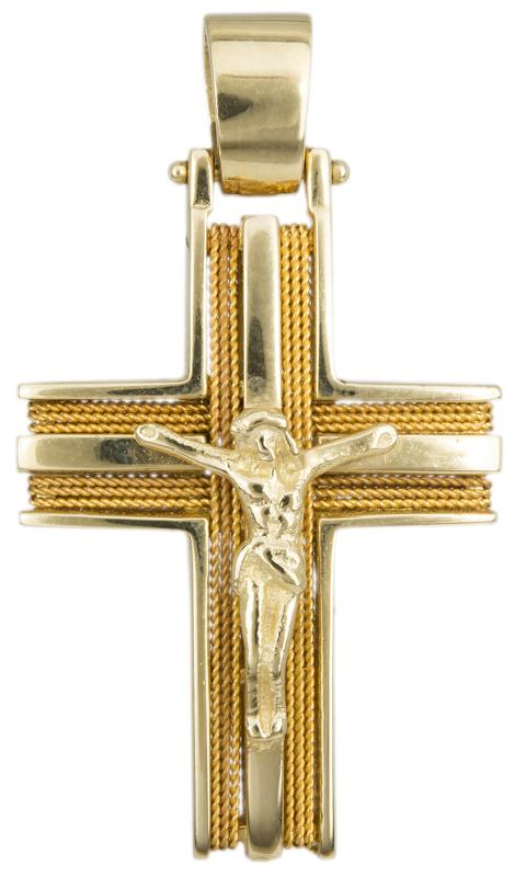 Σταυροί Βάπτισης - Αρραβώνα ΧΡΥΣΟΣ ΣΤΑΥΡΟΣ 9Κ ΧΕΙΡΟΠΟΙΗΤΟΣ 014192 014192 Ανδρικό Χρυσός 9 Καράτια