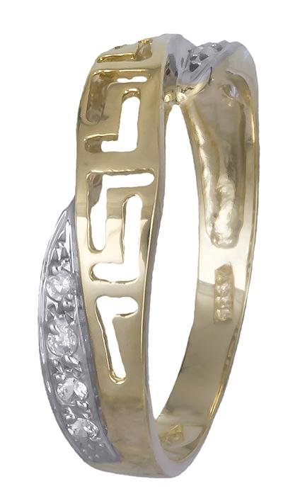 Δαχτυλίδι μαίανδρος Κ14 007380 007380 Χρυσός 14 Καράτια
