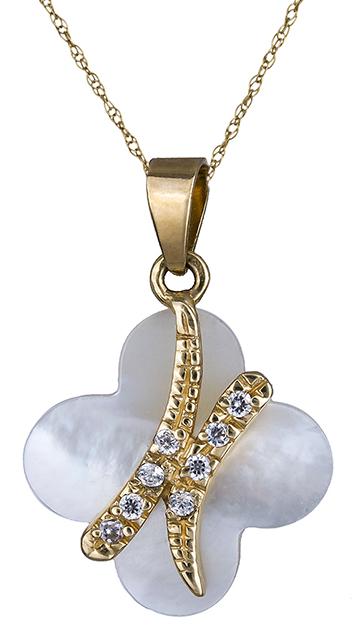 Γυναικείο κολιέ χρυσό- φίλντισι Κ14 007541 007541 Χρυσός 14 Καράτια