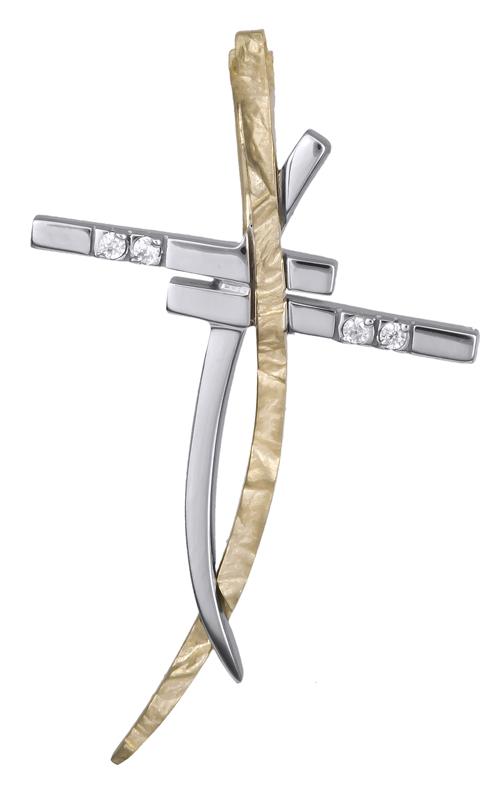 Σταυροί Βάπτισης - Αρραβώνα Γυναικείος σταυρός Κ14 007820 007820 Γυναικείο Χρυσός 14 Καράτια