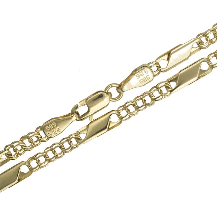Χρυσή καδένα λαιμού Κ14 008271 008271 Χρυσός 14 Καράτια χρυσά κοσμήματα αλυσίδες   καδένες