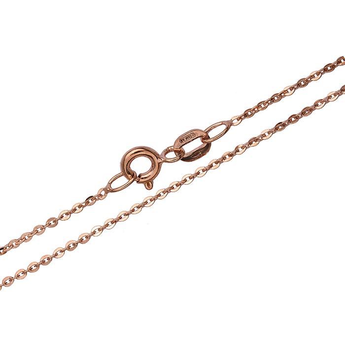 Ροζ χρυσή αλυσίδα 008413 008413 Χρυσός 14 Καράτια