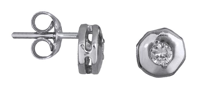 Γυναικεία σκουλαρίκια με πέτρες Κ14 008515 008515 Χρυσός 14 Καράτια