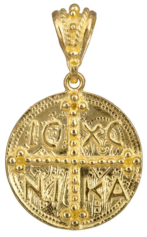 Κωνσταντινάτο διπλής όψης 14Κ 008955 008955 Χρυσός 14 Καράτια