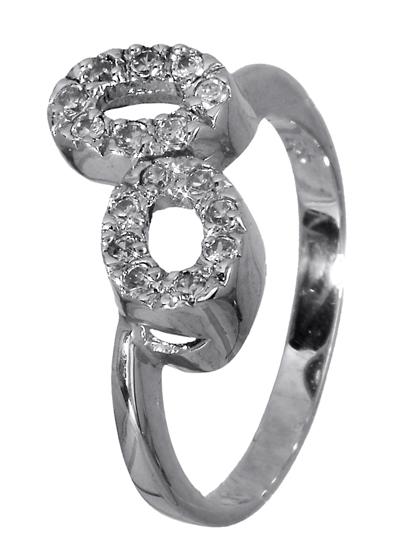 Λευκόχρυσο δαχτυλίδι 14K 009063 009063 Χρυσός 14 Καράτια