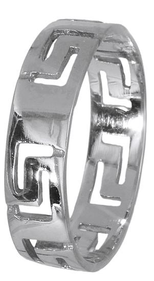 Λευκόχρυσο δαχτυλίδι 14K 009305 009305 Χρυσός 14 Καράτια