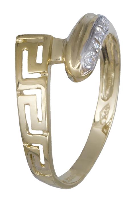 Δαχτυλίδι χρυσό μαίανδρος 009308 009308 Χρυσός 14 Καράτια
