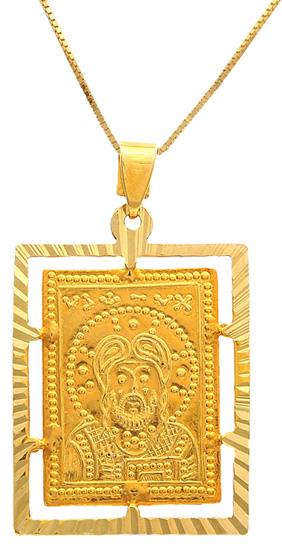 Φυλαχτό-κωνσταντινάτο 14Κ 009378 009378 Χρυσός 14 Καράτια