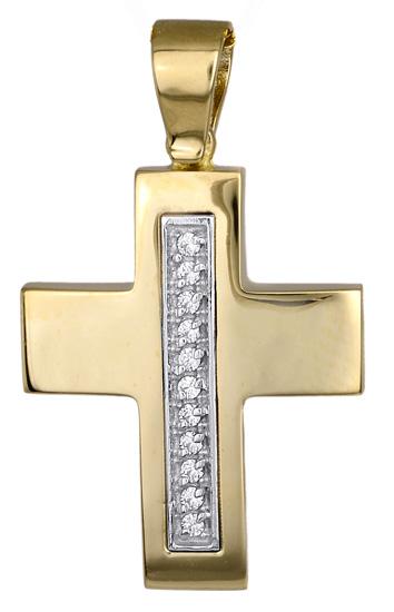 Σταυροί Βάπτισης - Αρραβώνα ΧΡΥΣΟΙ ΣΤΑΥΡΟΙ ΓΥΝΑΙΚΕΙΟΙ 009597 009597 Γυναικείο Χρυσός 14 Καράτια
