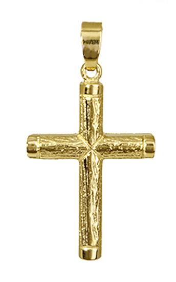 Σταυροί Βάπτισης - Αρραβώνα Ανδρικός Σταυρός Κ14 010101 010101 Ανδρικό Χρυσός 14 Καράτια