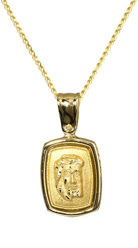 Φυλαχτό κόσμημα 010145 010145 Χρυσός 14 Καράτια