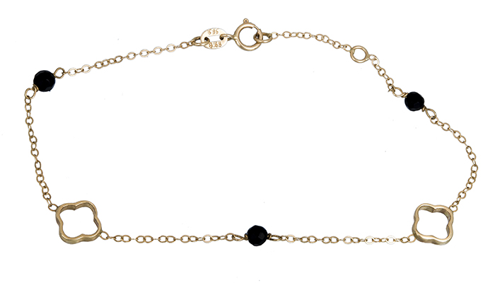 Βραχιόλι χρυσό γυναικείο Κ14 010588 010588 Χρυσός 14 Καράτια
