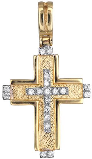 Σταυροί Βάπτισης - Αρραβώνα Γυναικείος σταυρός 010692 010692 Γυναικείο Χρυσός 14 Καράτια