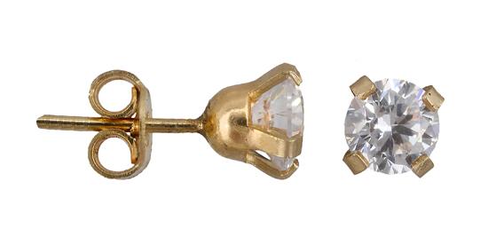Χρυσά Σκουλαρίκια Κ14 001075 001075 Χρυσός 14 Καράτια