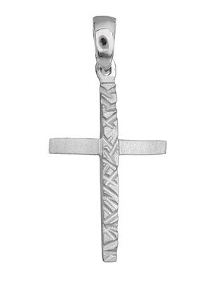 Λευκόχρυσος σταυρός Κ14 010820 010820 Χρυσός 14 Καράτια χρυσά κοσμήματα σταυροί