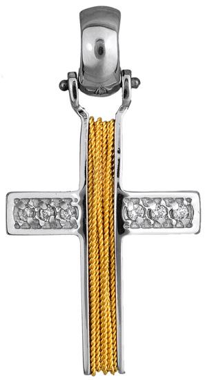 Σταυροί Βάπτισης - Αρραβώνα Γυναικείος σταυρός 010854 010854 Γυναικείο Χρυσός 14 Καράτια