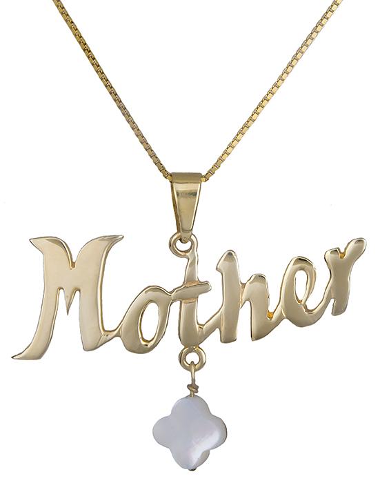 Κολιέ Mother 14Κ 010911 010911 Χρυσός 14 Καράτια