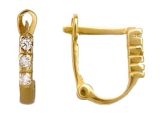 ΧΡΥΣΑ ΚΟΣΜΗΜΑΤΑ ONLINE 010929 010929 Χρυσός 14 Καράτια χρυσά κοσμήματα σκουλαρίκια καρφωτά