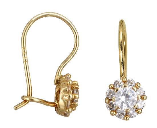 Χρυσά σκουλαρίκια Κ14 010939 010939 Χρυσός 14 Καράτια