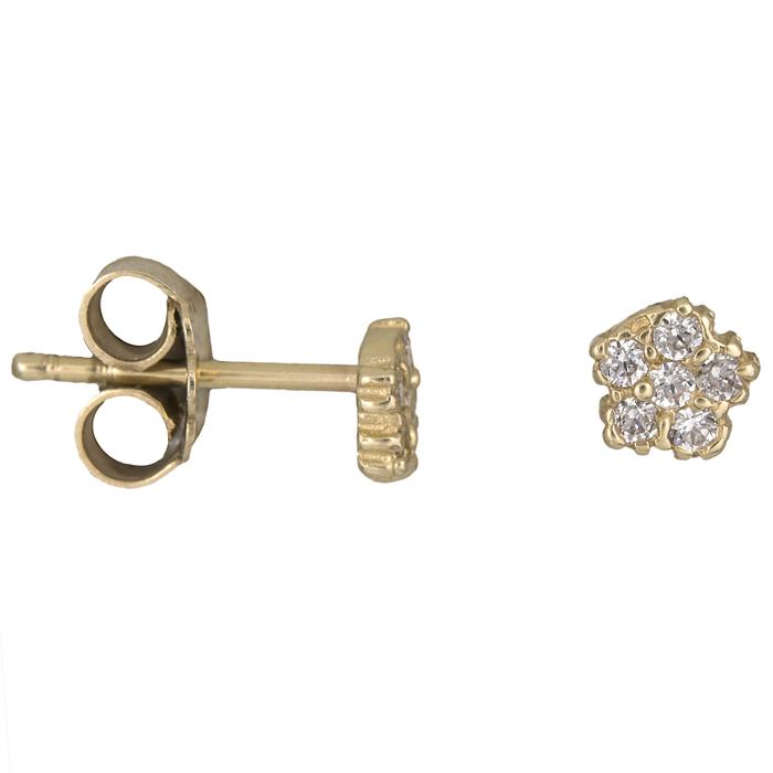 Γυναιεία σκουλαρίκια Κ14 010949 010949 Χρυσός 14 Καράτια