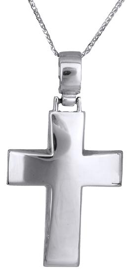 Βαπτιστικοί Σταυροί με Αλυσίδα Ανδρικός σταυρός 14Κ C011134 011134C Ανδρικό Χρυσός 14 Καράτια