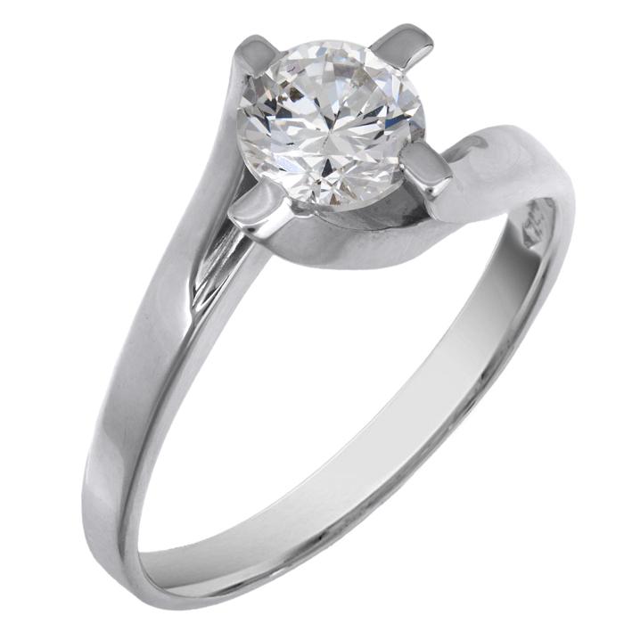 Λευκόχρυσο δαχτυλίδι Κ9 012717 012717 Χρυσός 9 Καράτια