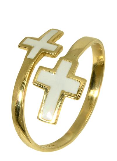 Χρυσό δαχτυλίδι 011308 Χρυσός 14 Καράτια