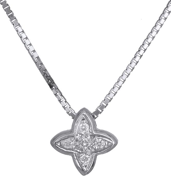 Λευκόχρυσος σταυρός 18Κ με brilliant 011378 011378 Χρυσός 18 Καράτια χρυσά κοσμήματα σταυροί