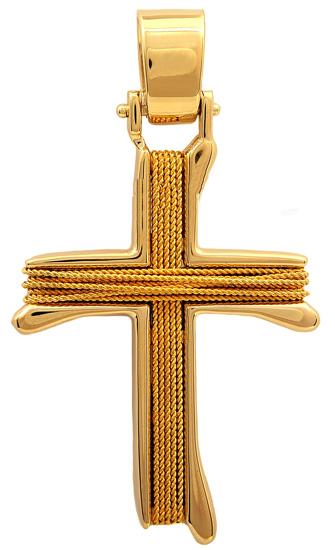 Σταυροί Βάπτισης - Αρραβώνα Χρυσός σταυρός 14Κ 011455 Ανδρικό Χρυσός 14 Καράτια
