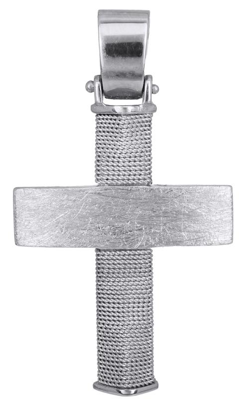 Σταυροί Βάπτισης - Αρραβώνα Χειροποίητος σταυρός 14Κ 011466 Ανδρικό Χρυσός 14 Καράτια