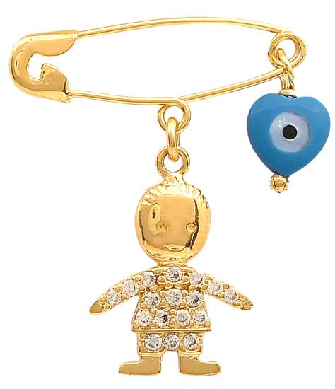 Παιδική παραμάνα 14Κ 011767 Χρυσός 14 Καράτια