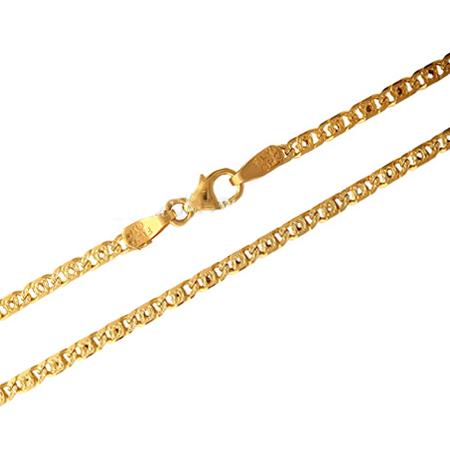 Χρυσή αλυσίδα Κ14 011890 Χρυσός 14 Καράτια