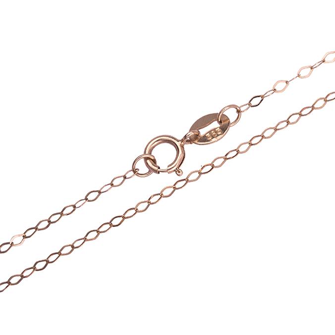 Ροζ καδένα 14Κ 011980 011980 Χρυσός 14 Καράτια χρυσά κοσμήματα αλυσίδες   καδένες