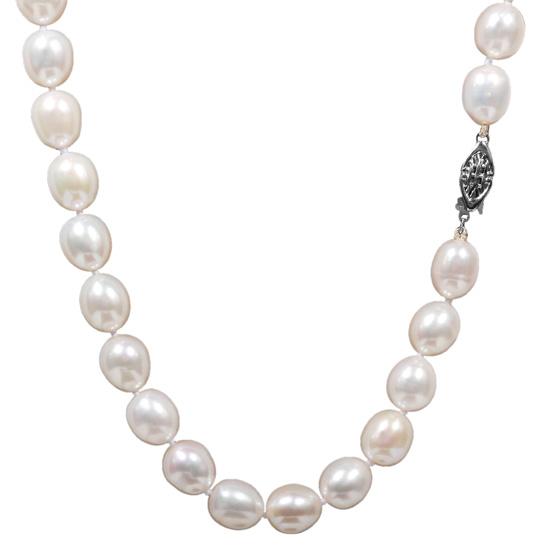 Κολιέ με μαργαριτάρια 012013 Χρυσός 14 Καράτια