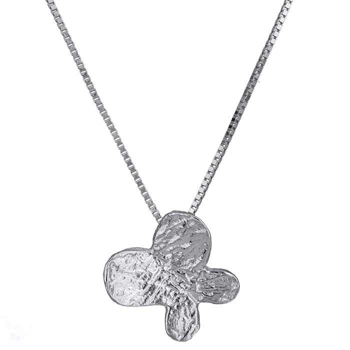 Λευκόχρυσο κολιέ 14Κ 012122 Χρυσός 14 Καράτια χρυσά κοσμήματα κολιέ