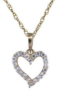 Κολιέ χρυσό με καρδούλα 14Κ 012193 012193 Χρυσός 14 Καράτια