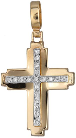 Σταυροί Βάπτισης - Αρραβώνα Γυναικείος σταυρός 012279 012279 Γυναικείο Χρυσός 14 Καράτια