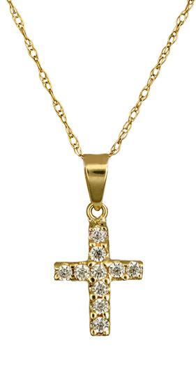 Σταυρός Χρυσός c012327 012327C Χρυσός 14 Καράτια