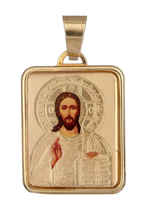 Χρυσό φυλαχτό με τον Χριστό Κ14 012371 012371 Χρυσός 14 Καράτια