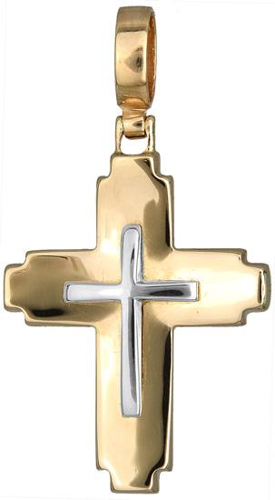 Σταυροί Βάπτισης - Αρραβώνα Χρυσός σταυρός 012407 012407 Ανδρικό Χρυσός 14 Καράτια