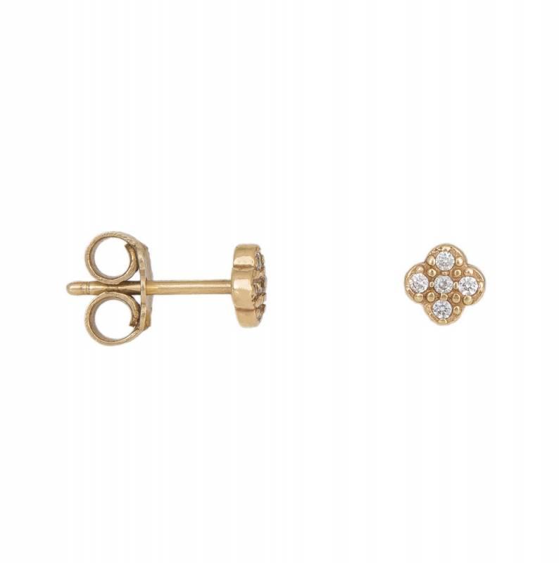Χρυσά σκουλαρίκια Κ14 012441 012441 Χρυσός 14 Καράτια